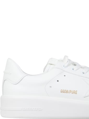 Golden Goose Pure New Leather Sneakers