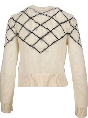 Saint Laurent Crew Neck Knit