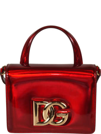Dolce & Gabbana Logo Plaque Top Handle Shoulder Bag