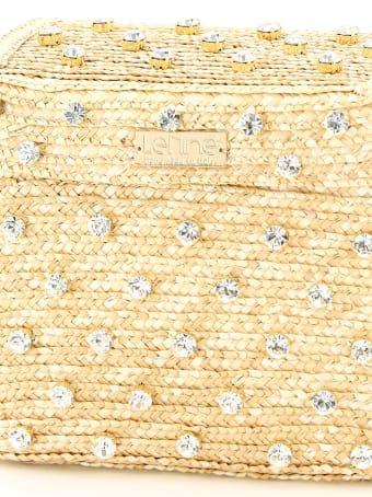 Le Niné Carol Basket Bag Bx-00030 Crystal Natural