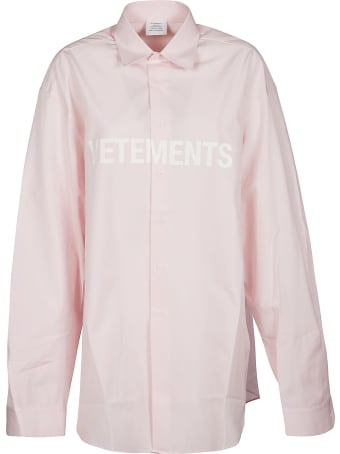 VETEMENTS All-over Printed Oversized Shirt