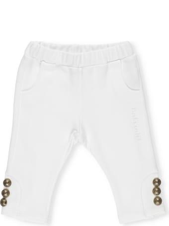 Balmain Cotton Pants With Buttons