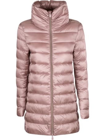 Save the Duck Logo Padded Jacket