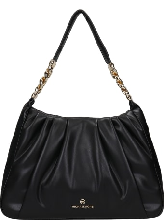 Michael Kors Tote In Black Leather