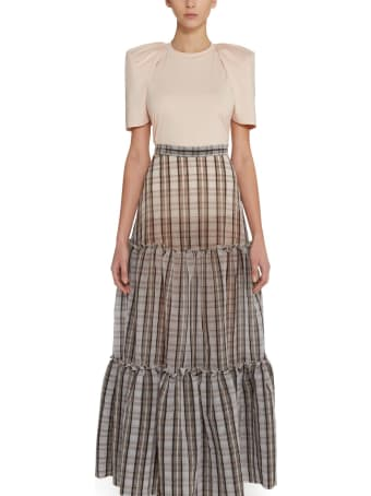 Amotea Tartan Charlotte Long Skirt