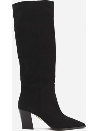 Aquazzura Matisse 70 Boots In Suede