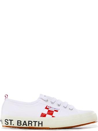 MC2 Saint Barth White Superga® Sneakers - Special Edition