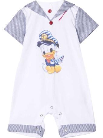 Monnalisa Donald Duck Print Jumpsuit