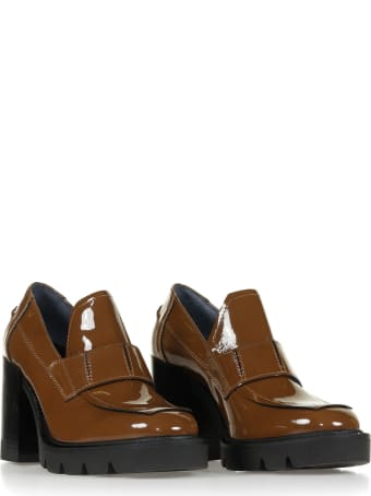 Janet & Janet Janet & Janet Tan Patent Loafer
