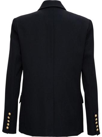 Balmain Double-breasted Blazer In Wool Blend
