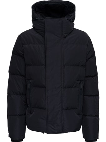 Dsquared2 Black Quilted Nylon Down Jacket