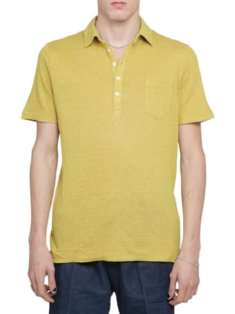Massimo Alba Mustard Filicudi Polo Shirt