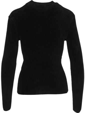 MSGM Cut-out Detail Knitted Top