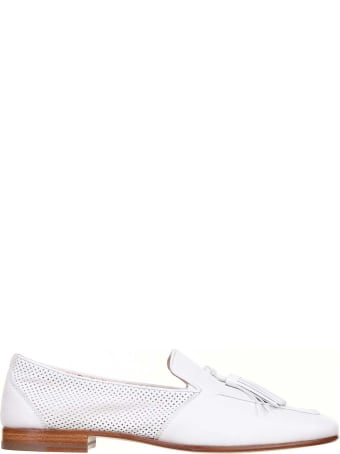 Fratelli Rossetti One Loafer In White Leather