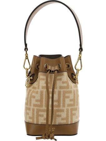 Fendi Mini Mon Shoulder Bag
