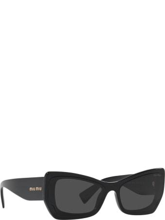 Miu Miu Miu Miu Mu 07xs Crystal Black Sunglasses