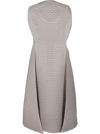 Issey Miyake Grey Midi Dress