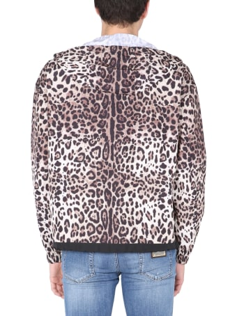 Dolce & Gabbana Jacket With Leopard Print