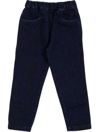 Philosophy di Lorenzo Serafini Kids Blue Stretch Denim Jeans