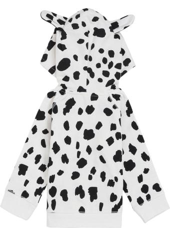 Stella McCartney Kids Dalmatian Cotton Fleece Hoodie
