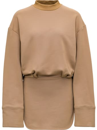 The Attico Beige Cotton Blend Dress