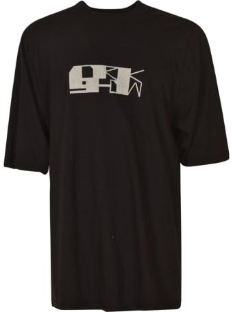 Rick Owens Oversized Logo T-shirt