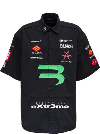Balenciaga Stretch Cotton Gamer Shirt