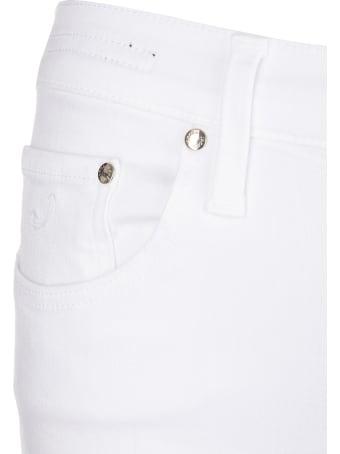 Jacob Cohen Woman White Kimberley Crop Pants