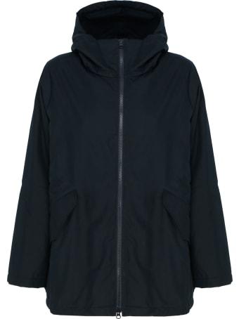 Labo.Art Atlantic Blue Hooded Zipped Jacket