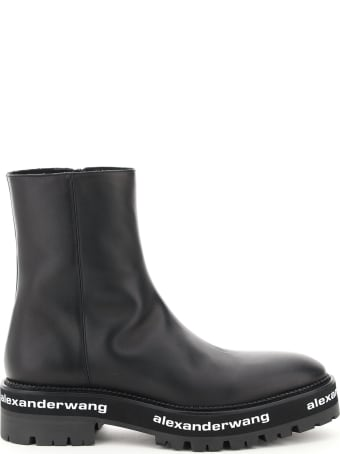 Alexander Wang Sanford Leather Boots