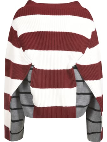 Mrz Double-Layered Stripe Jumper