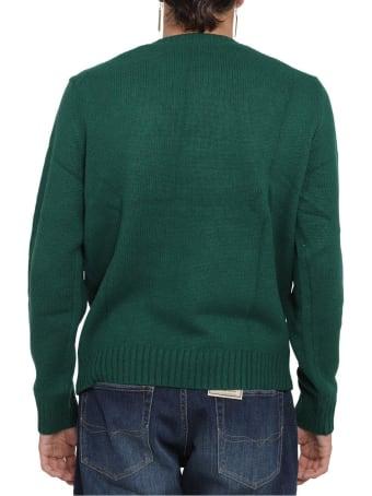 Ralph Lauren Green Bear Sweater