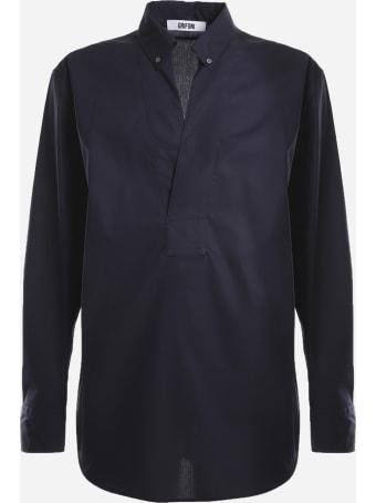Mauro Grifoni V-neck Shirt Made Of Linen