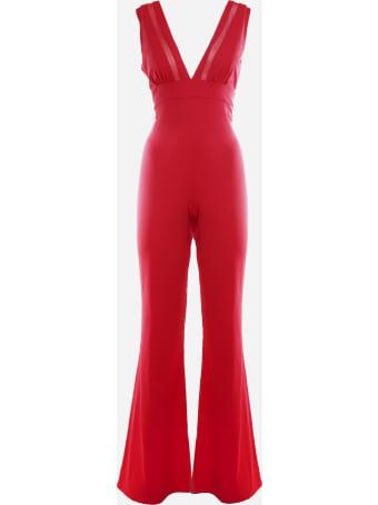 Fisico - Cristina Ferrari One-piece Suit With Mesh Insert