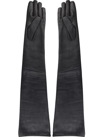 MM6 Maison Margiela Leather Gloves