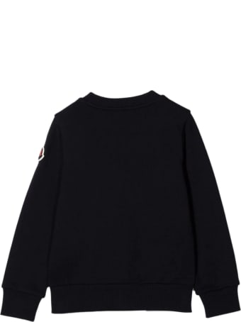 Moncler Navy Blue Cotton Sweatshirt