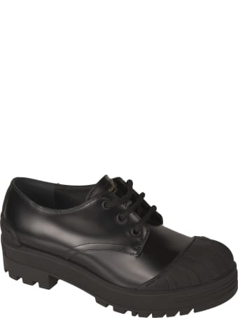 Christian Dior Rubber Toe Derby Shoes