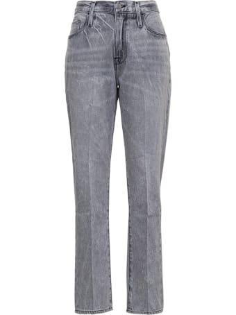 Frame Grey Jeans In Denim