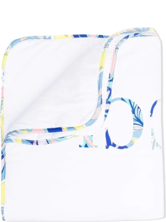 Emilio Pucci White Stretch Cotton Sleep Bag