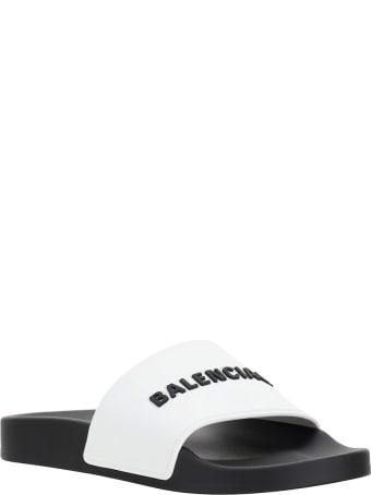 Balenciaga Pool Slide Shoes