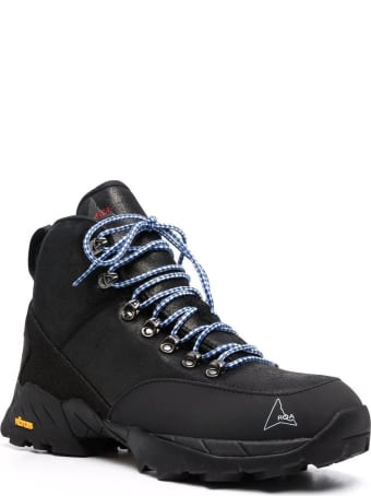 ROA Black Andreas Leather Hiking Boots