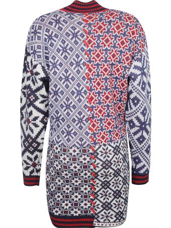 Golden Goose Jacquard Dominika Patchwork Dress