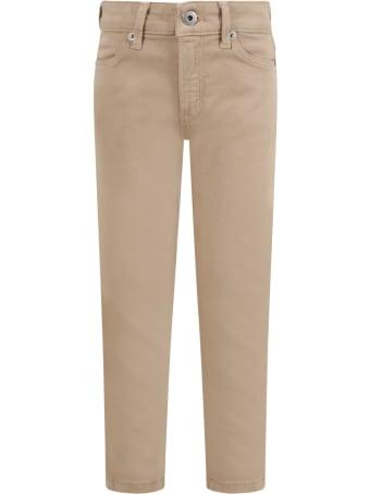 Dondup Beige ''iris'' Jeans For Girl