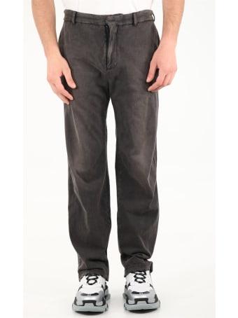 Balenciaga Slim Worn Out Pants