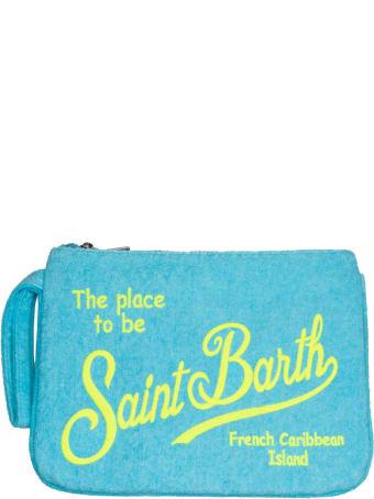 MC2 Saint Barth Aquamarine Sponge Pochette Saint Barth