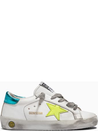 Golden Goose Deluxe Brand Super Star Laminated Sneakers Gjf00101. F001175