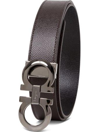 Salvatore Ferragamo Double Hook Reversible Belt