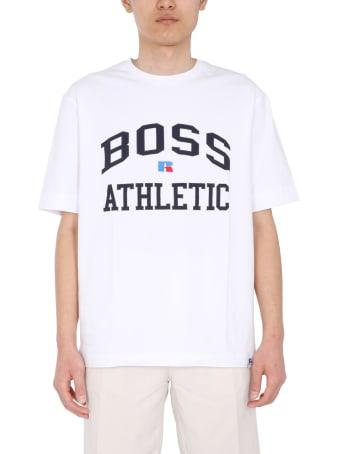 Hugo Boss Boss X Russell Athletic Logo T-shirt