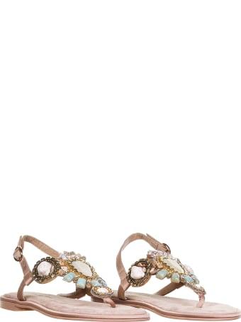Alma en Pena Sandals In Suede