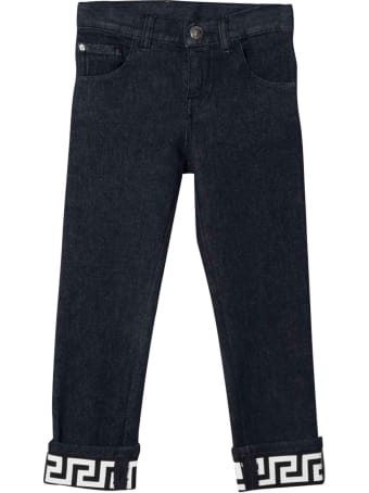 Versace Young Boy's Slim Jeans